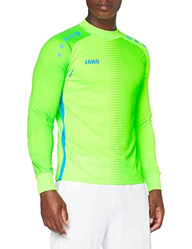 JAKO Herren TW-Trikot Competition 2.0, neongrün blau, M