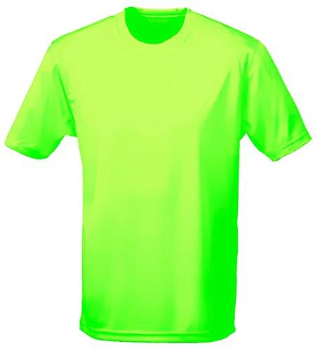 NEON T-Shirt Kinder NEON T-SHIRTgreen Kinder 7/8 Jahre