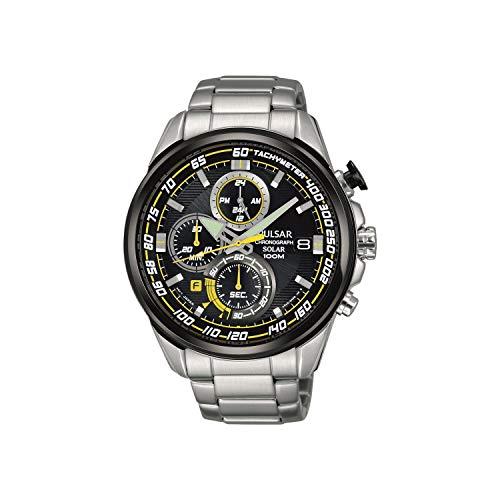 Pulsar Herren Analog Quarz Uhr mit Edelstahl Armband PZ6003X1