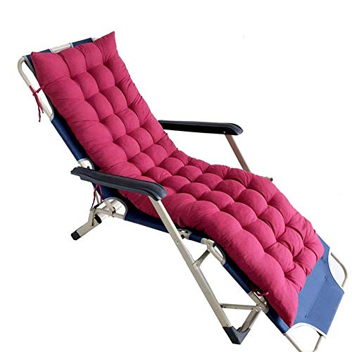 QYDF Pillows For Deck Sarafan, Pillows for chairs Garden, Cotton Cushion For Rocking Chair - Comfortable Cushion For Rocking Chair,burgundy,170 * 45 * 8cm
