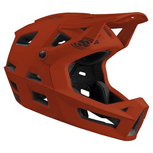 IXS Trigger FF MIPS Casco Integral para Bicicleta de montaña, E-Bike/BMX Adultos Unisex, Naranja, Grande