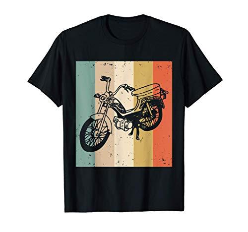 Motorroller Mofa Moped Motorradliebhaber Roller T-Shirt