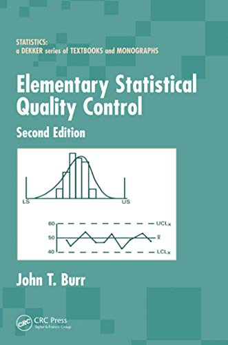 Compare Textbook Prices for Elementary Statistical Quality Control 2 Edition ISBN 9780367578121 by Burr, John T.