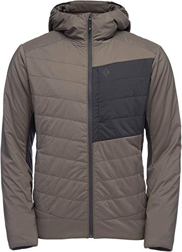 Black Diamond First Light Stretch Hoodie - Men's, Walnut-Black, Medium, AP7460209025MED1