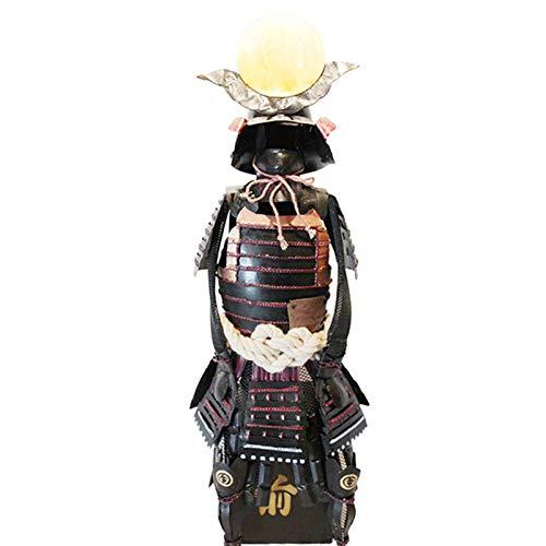 LXLH Ornements d'armure de Style Japonais, rétro samouraï Fer Art décoration de la Maison Naoe Kensuke Sculpture Petite Armure Artisanat Ornements Cadeaux