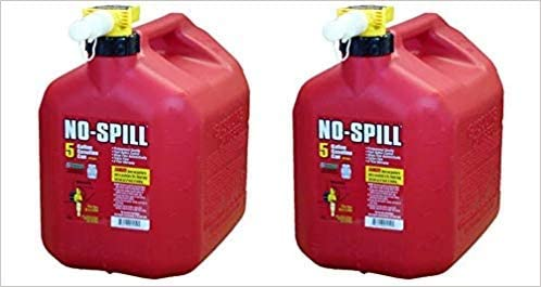 new arrival No Spill Plastic outlet online sale Gas Can 5 lowest gal. outlet sale