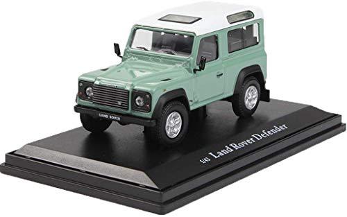 XIUYU Automodell 1.43 Land Rover Defender 110 Light Green Geländewagen hohe Simulations-Auto-Modell Junge/Mädchen Geschenk (Farbe: Grün, Größe: 9,1 cm * 4,6 cm * 4,1 cm) hsvbkwm
