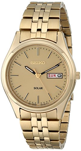 Fashion Shopping Seiko Men's SNE036 Stainless Steel Solar Watch