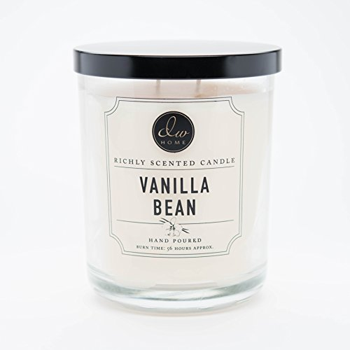 DW Home Large Double Wick Candle, Vanilla Bean
