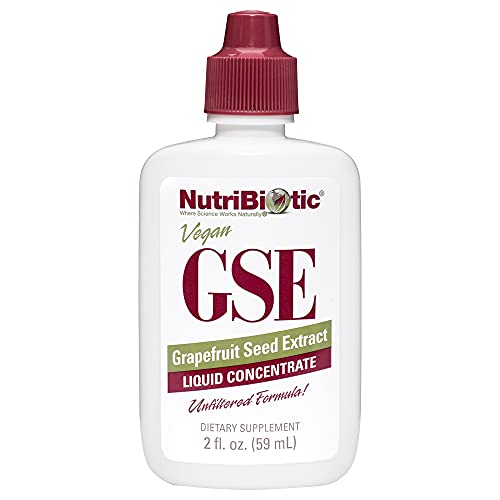 NutriBiotic – GSE, 2 Oz Liquid | The Original Grapefruit Seed Extract Premium Concentrate with Bioflavonoids | Potent Immune & Overall Health Support | Vegan, Gluten Free, Non-GMO