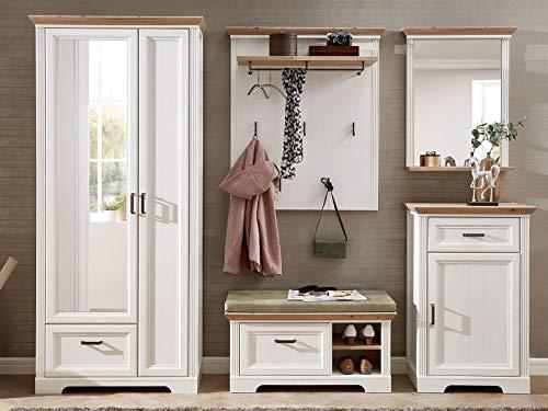 möbelando Garderobe Dielenmöbel Garderobenprogramm Komplett Set Flurmöbel Jillana VI