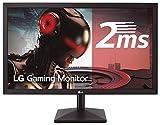 LG 27MK400H-B - Monitor Gaming FHD de 68,6 cm (27') con Panel TN (1920 x 1080 píxeles, 16:9, 2 ms, 75Hz, 300 cd/m², 1000:1, NTSC 72%) Color Negro Mate