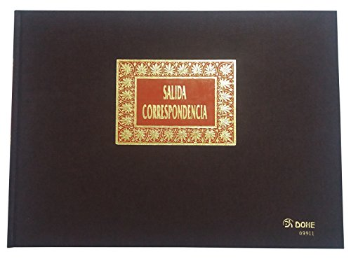 DOHE - Libro registro, salida correspondencia, folio apaisado (9911)