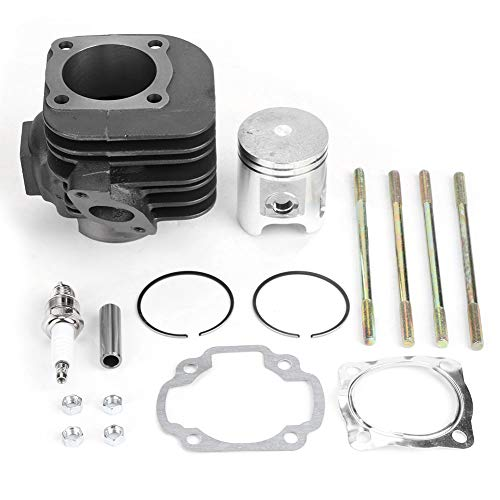 Anillos de pistón de cilindro aptos para Predator 90, kit de extremo superior de junta de cilindro de pistón de motor de hierro 219700194
