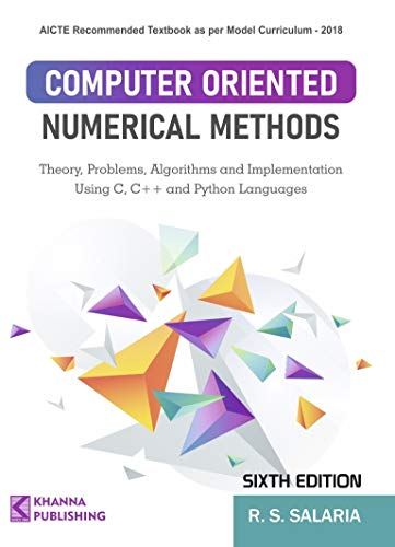 Computer Oriented Numerical Methods (English Edition)