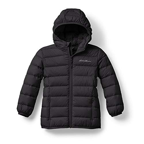 Eddie Bauer Toddler CirrusLite Down Hooded Jacket, Onyx Regular 2T