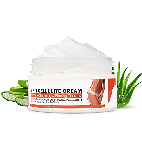 100g Cellulite Creme, Pflanzenextrakt Schlankheitscreme Körperformende, straffende Massagecreme für taillenbauchbeine straffere Haut