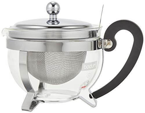 Teekanne, Sieb, Edelstahl, 0,5 l