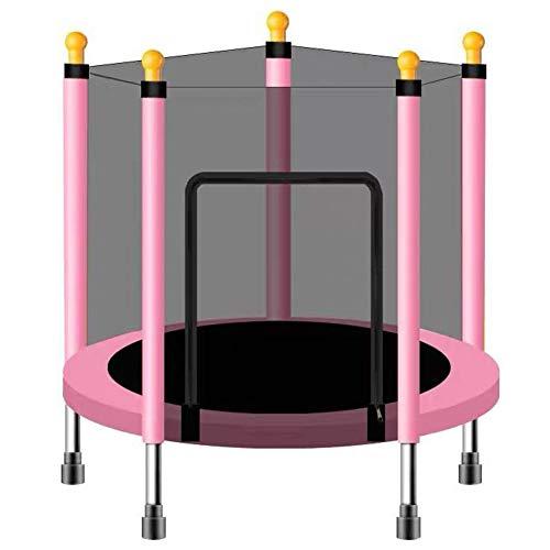 FSGD Trampoline met Behuizing Net Mini Trampoline voor Kinderen Rebounding Oefening Combo Bounce Jump, Ondersteuning gewicht tot 120kg
