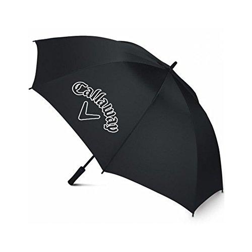 Callaway CG Logo 60 SGL Man Regenschirm offen, schwarz, 152,4 cm