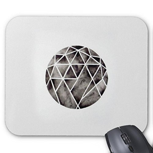Mousepad Watercolor Geometric Circle Art Print Mouse Mat
