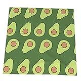 COOL-SHOW Servilletas de tela abstractas de aguacates, servilletas de lujo para hotel, cóctel, fiesta, lavable, juego de 4 servilletas para decoración de vajilla