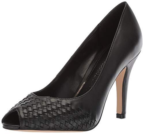 Athena Alexander Women's STRASBORG Sneaker, Black Leather, 8 M US