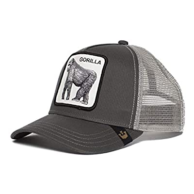 Goorin Bros. 'King of The Jungle' Animal Farm Trucker Snap Back Baseball Hat