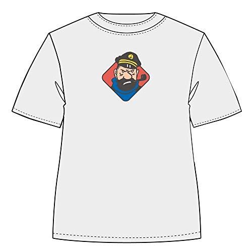 Moulinsart Camiseta Tintín, insultos del Capitán Archibaldo Haddock (2020) - L