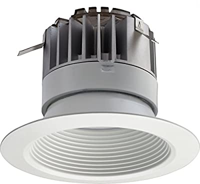 "Lithonia Lighting 4BPMW LED 27K 90CRI M6 Recessed Down Lighting Module, 2700 lm, 4"", Matte White"
