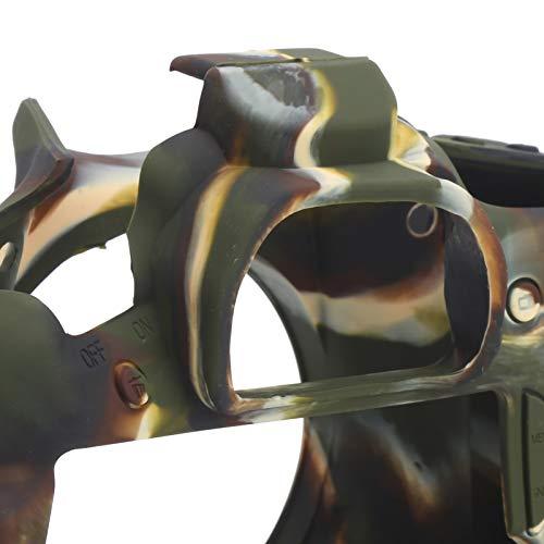Klein formaat, siliconen hoes, voor digitale camera voor Canon 60D-camera voor SLR-camera voor camera(Camouflage)