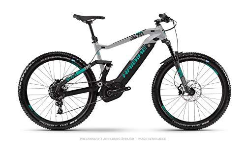 Haibike Sduro FullSeven 7.0 27.5'' Pedelec E-Bike MTB schwarz/grau/türkis 2019: Größe: XL*