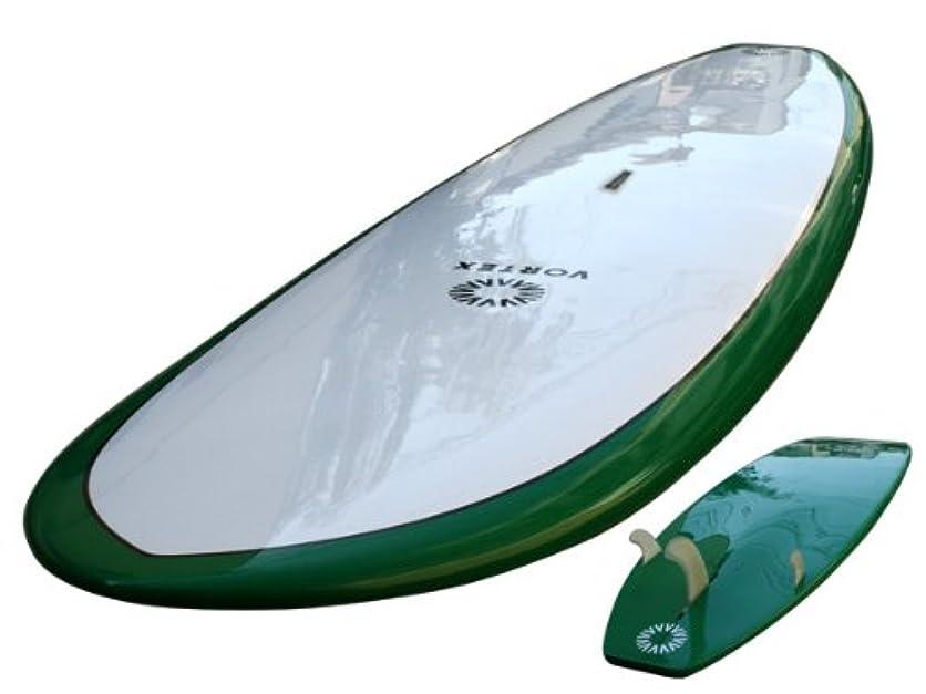 ホバート豊かな狂信者VORTEX(ボルテックス) スタンドアップパドルボード グリーン フィン付き SUP サップ オールラウンド ハードボード 9f 10f 11f