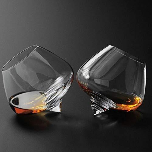 BWM Revolve Whiskey glas likeur Cognac Brandy Snifter wijnbeker Tumbler Whisky