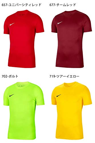 Nike Y Nk Dry Park VII JSY Ss T-Shirt - University Blue/White, Large