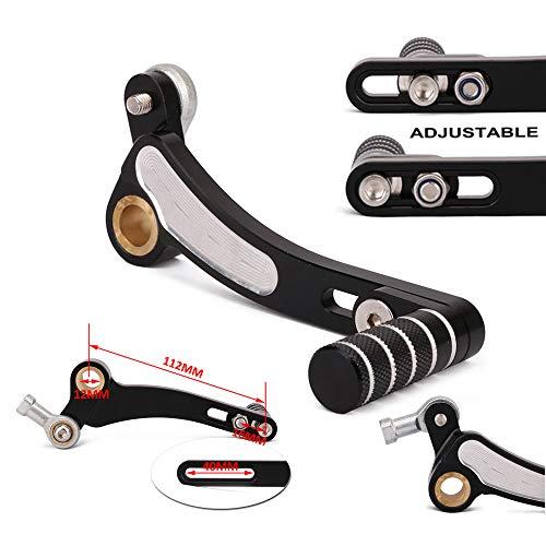 CNC Aluminio Ajustable Plegable Palancas de Cambio Palanca de Cambio Pedal para Kawasaki Z800 2013-2016 Z900 17-18 Z1000 10-17 Z1000SX 11-16 Ninja1000 11-17