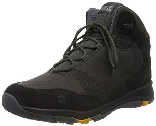Jack Wolfskin Herren Activate XT Texapore MID M Wasserdicht Trekking-& Wanderstiefel, Grau (Dark Steel/Phantom 6056), 42 EU