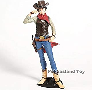 Anime Treasure Cruise World Journey Luffy Nami Zoro Cowboy Ver. PVC Action Figure Collection Model Toys Doll U Must Have Friendship Gifts The Favourite Anime Superhero Toys 3 Movie Collection