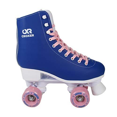 Croxer Rollschuhe Roller Skates Belen (Blue, 39(25,5cm))
