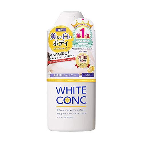 White Conk Medicated Body Shampoo CII - 360ml (Green Tea Set)