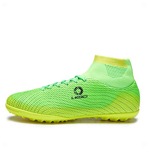 LEOCI Performance Turf Soccer Shoes - Men and Boy Soccer...