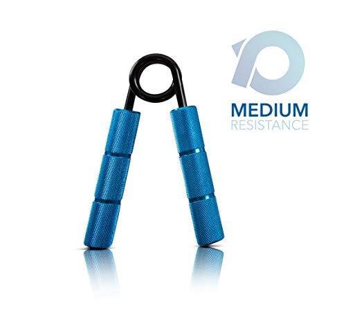 Powerball Griff-Stärkerer aus Metall Professioneller Grip Strengthener für Intensive Griffkraft, Muskeltraining und Rehabilitation (150lbs)