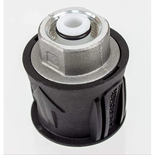 MagiDeal Adaptador de Pistola Lavadora de Alta presión con conexión rápida M22 Compatible con Accesorios de Lavadora de Alta presión Karcher K Series K2, K3,