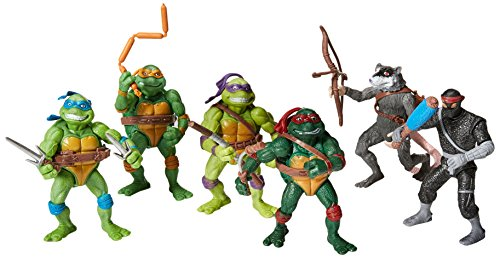 Teenage Mutant Ninja Turtles Action Figures Collectible Figurines (6 Piece), 12cm/4.7