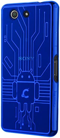 Cruzerlite Z3 Compact Case Cruzerlite Bugdroid Circuit Case for Sony Xperia Z3 Compact Retail product image