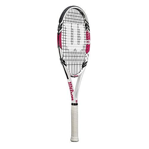 WILSON Intrigue Graphite Tennisschläger - (Griffgröße L1, L2 & L3 erhältlich) (L2 (4 1/4