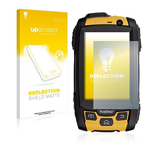upscreen Entspiegelungs-Schutzfolie kompatibel mit RugGear RG500 – Anti-Reflex Bildschirmschutz-Folie Matt