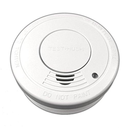 Optischer Rauchmelder inkl. Batterie | Rauchwarnmelder | Feuermelder | Brandmelder