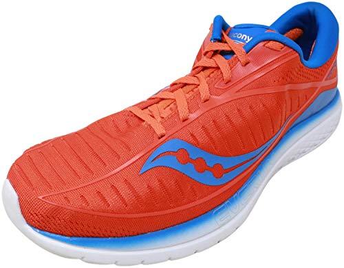 Saucony Kinvara 10, Zapatillas de Running Hombre, Naranja (Orange/Blue 36), 43 EU