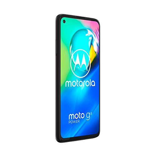 Motorola G8 Power - Smartphone portable débloqué 4G - ( écran HD 6,4'-Android 10.0 -64GO) Noir [Ancien Modèle]
